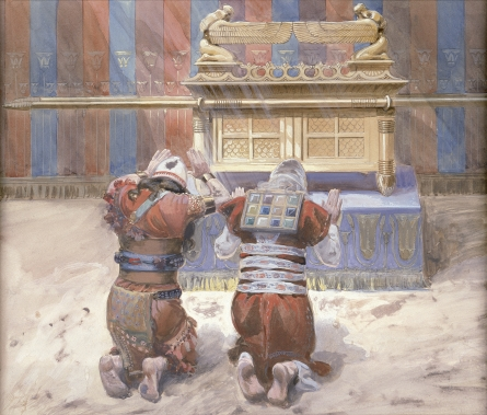 Tissot-Moses-and-Joshua-in-the-Tabernacle