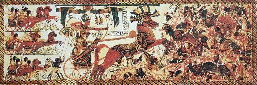 egyptian-battle