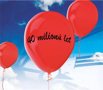 40 million yearws