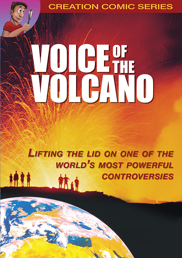 Voice of the Volcano comic