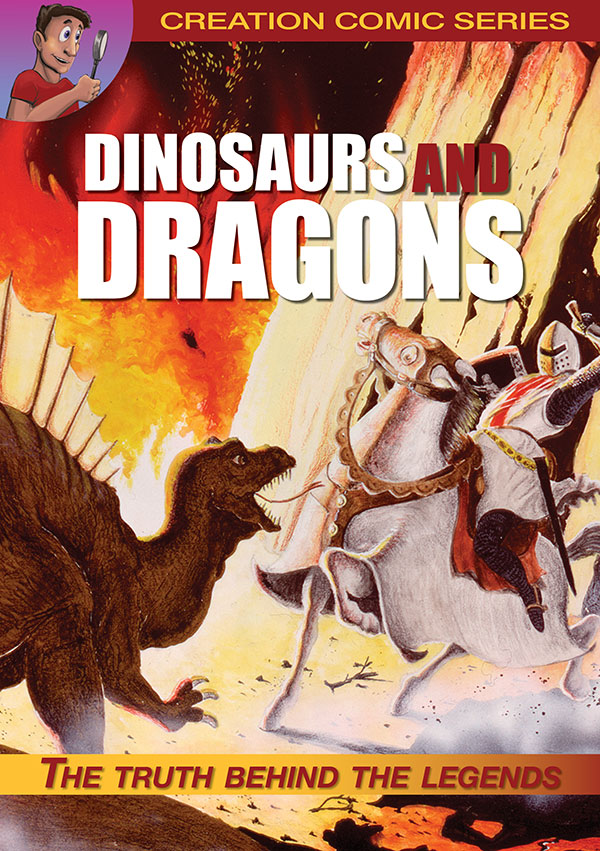 Dinosaurs and Dragons comic