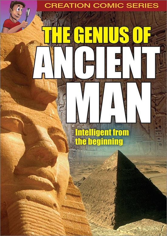 The Mystery of Ancient Man comic