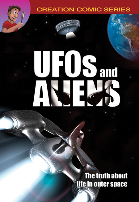 UFOs and Aliens comic