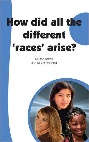 How did all the different 'races' arise?