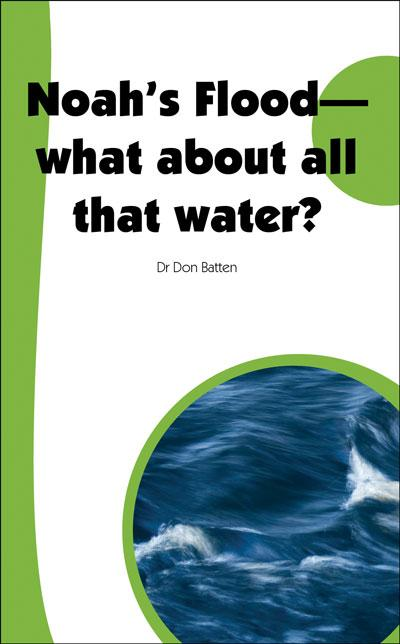 Noah's Flood: What about all that water?