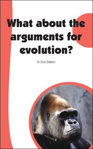 What about arguments for evolution?