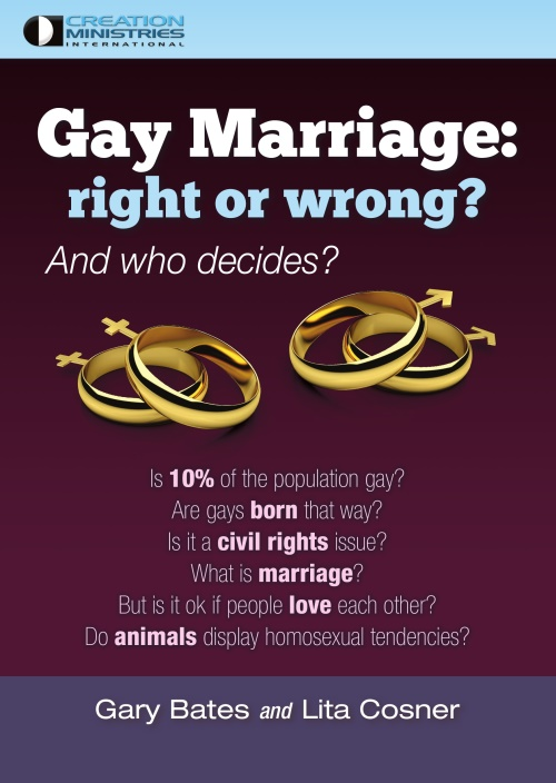Gay Marriage: right or wrong?