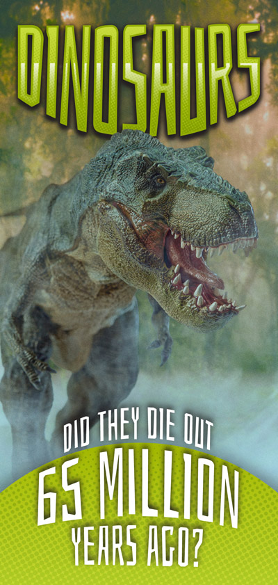 Dinosaurs: Did they die out 65 million years ago?