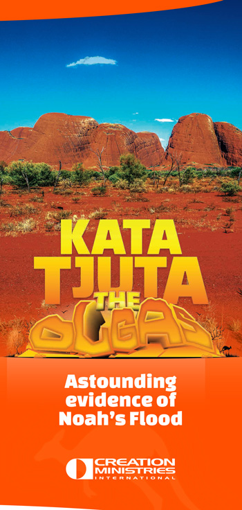 Kata Tjuta (The Olgas): Astounding evidence of Noah's Flood