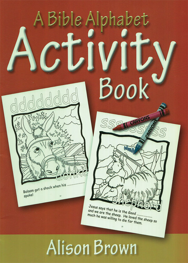 A Bible Alphabet: Activity Book