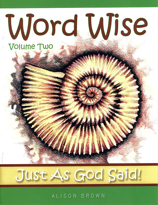 Word Wise Vol 2: Just As God Said!
