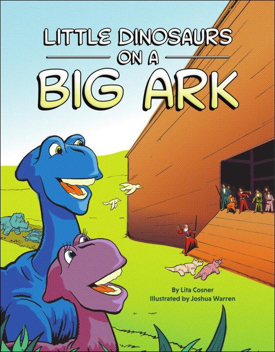 Little Dinosaurs on a Big Ark