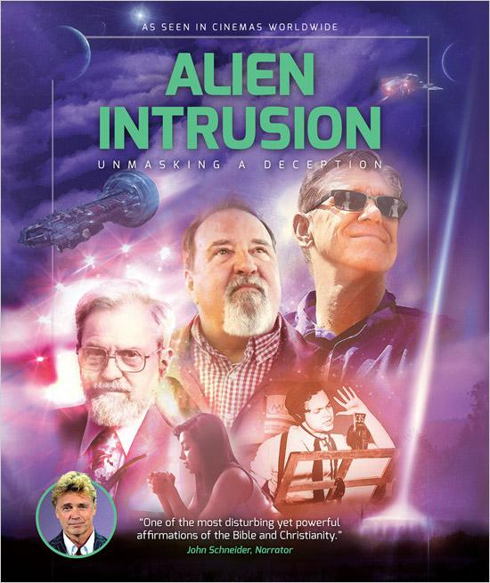 Alien Intrusion: Unmasking a deception Blu-ray
