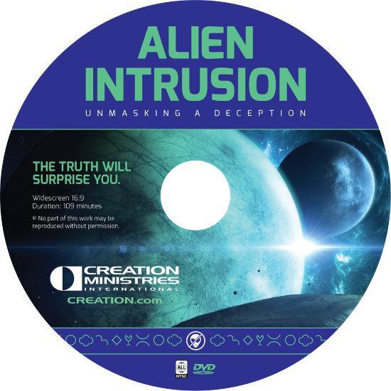 Alien Intrusion: Unmasking a Deception sleeved DVD