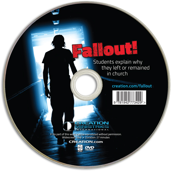 Fallout! Students explain why they left or remained in church - Sleeved DVD