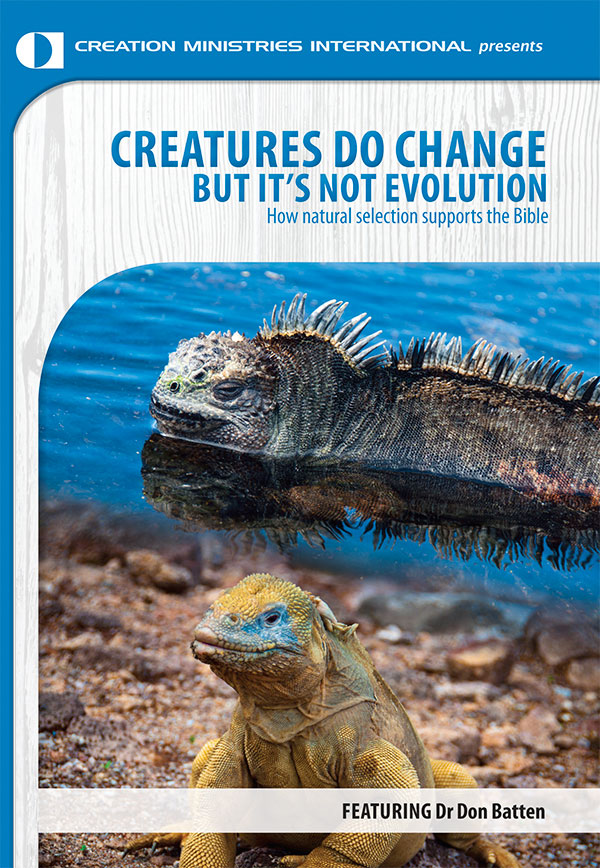 Creatures Do Change But It's Not Evolution