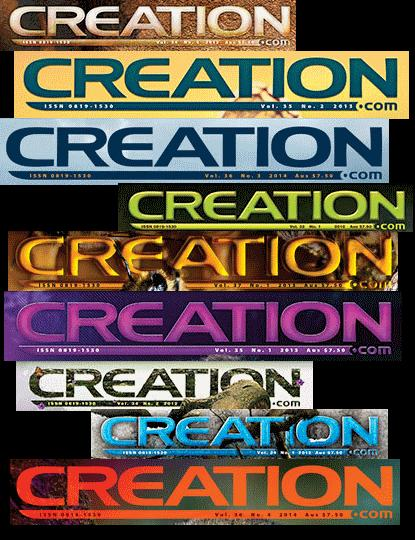 Creation magazine print back issues