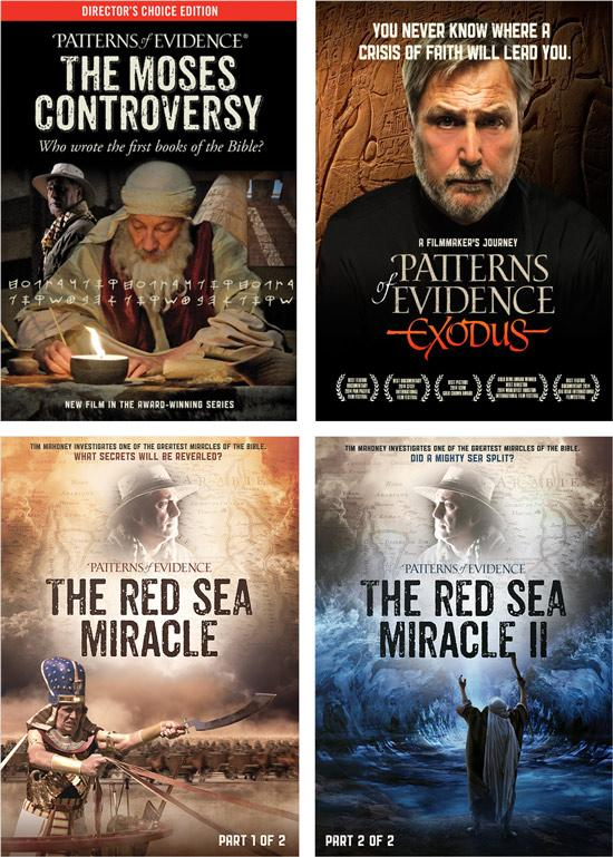 Patterns of Evidence 4 DVD pack