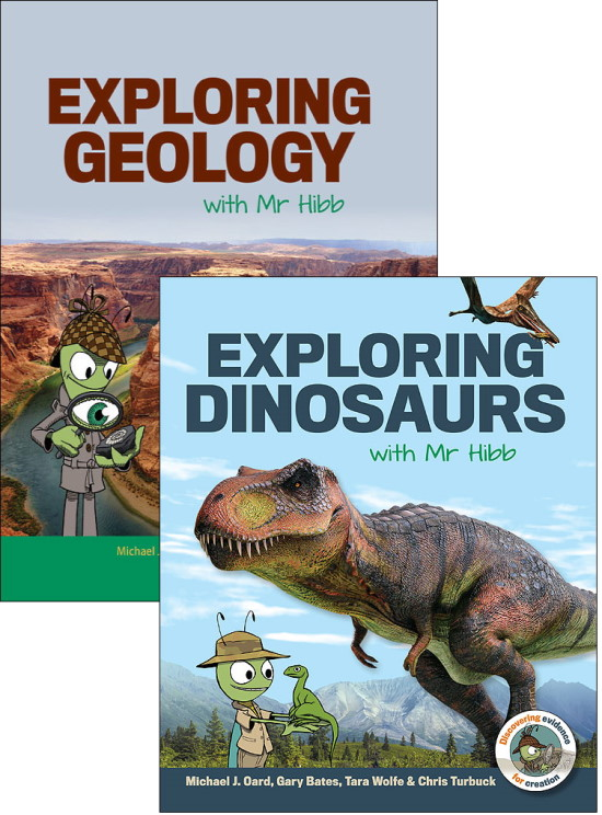 Mr Hibb Geology & Dinosaur books