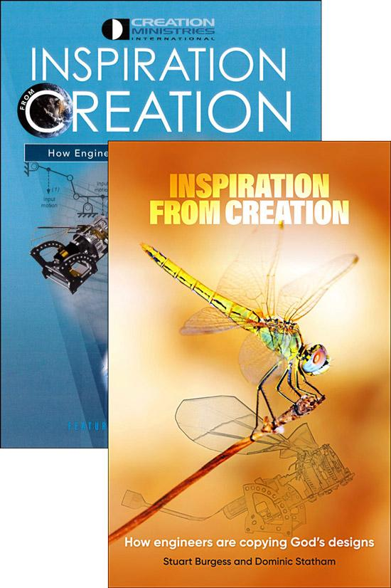 Inspiration From Creation (Book & DVD pack)