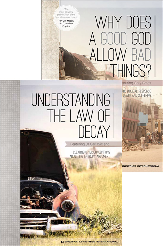 Why Does a Good God Allow Bad Things? + Understanding the Law of Decay
