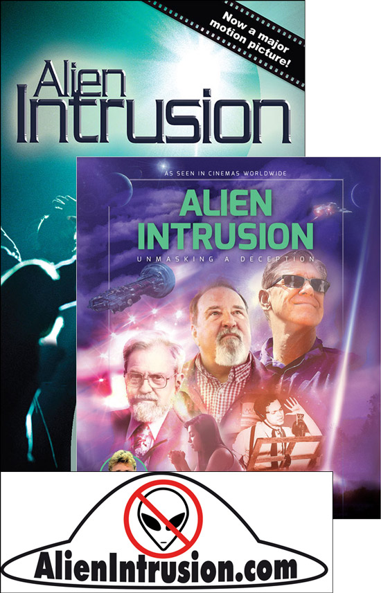 Alien Intrusion Movie pack (Blu-ray)