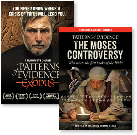 Patterns of Evidence Blu-ray pack