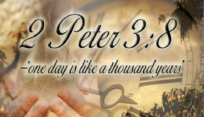 Kjv a day 1000 years to god is
