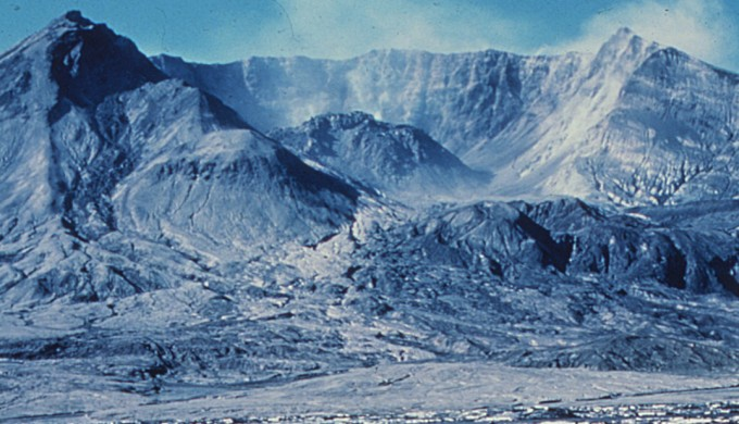 Carbon dating Mount Saint Helens